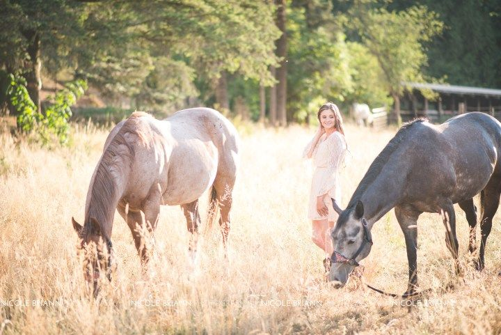 Oregon Senior Portrait Photographer, Nicole Briann Photography, Veronia High School Class of 2016 Senior, Sheyanne, country and horse pictures at Flying M Ranch in Yamhill Oregon