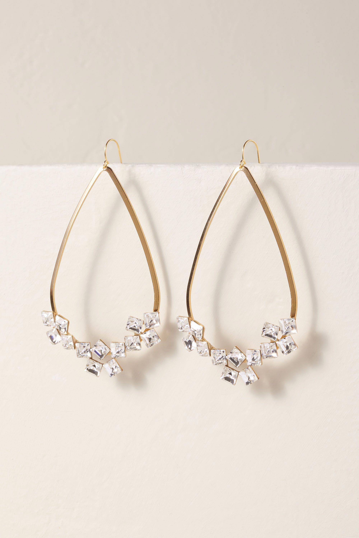 Derya Hoop Earrings Gold In Bride Bhldn Hoopearrings Tiny Hoop Earrings Emerald Earrings Studs Gold Jewelry Gift