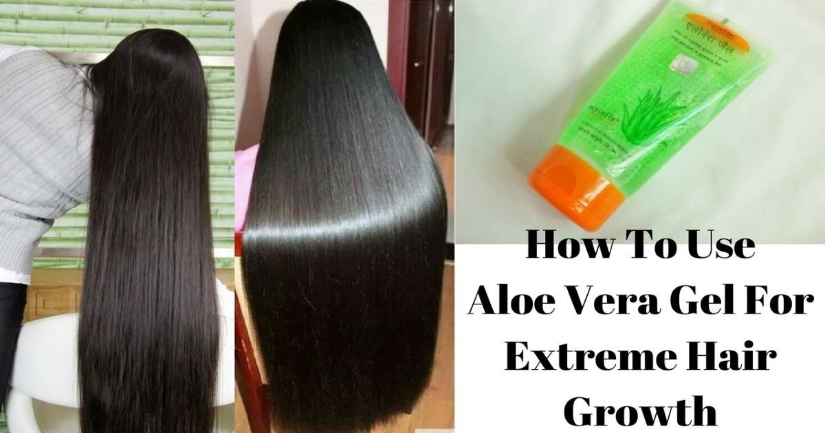 How To Use Aloe Vera Gel For Extreme Hair Growth With Images