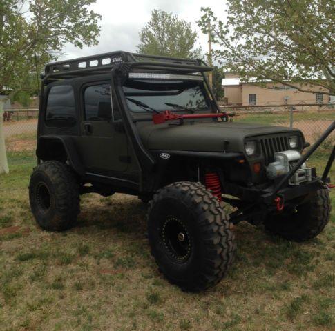 1989 Jeep Wrangler Yj 4x4 2 Door 4 0l Rock Crawler No Reserve