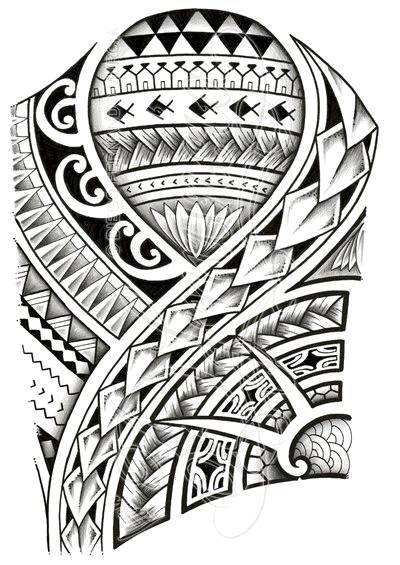 Samoan Tattoo Designs On Paper