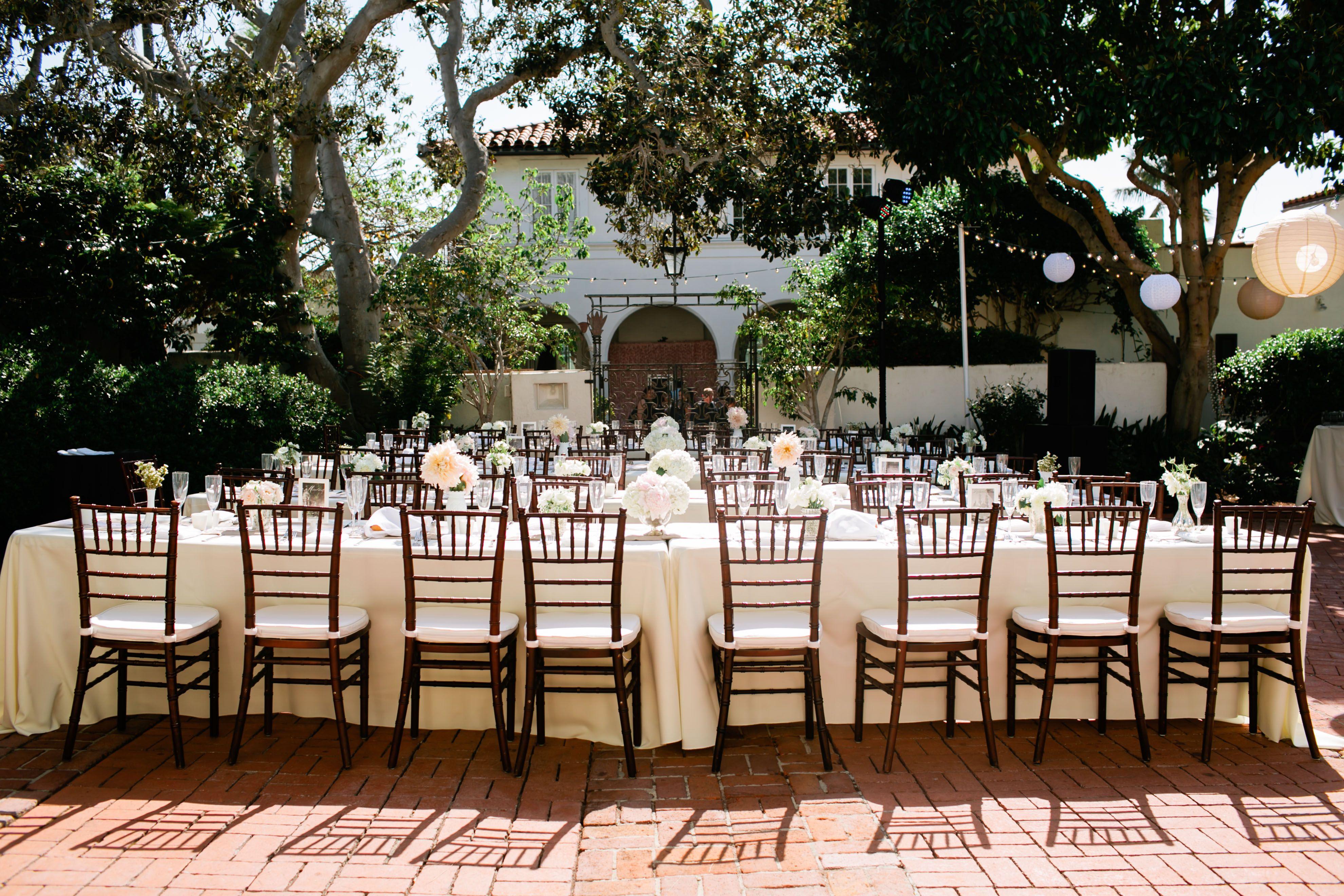 wedding table rentals san diego