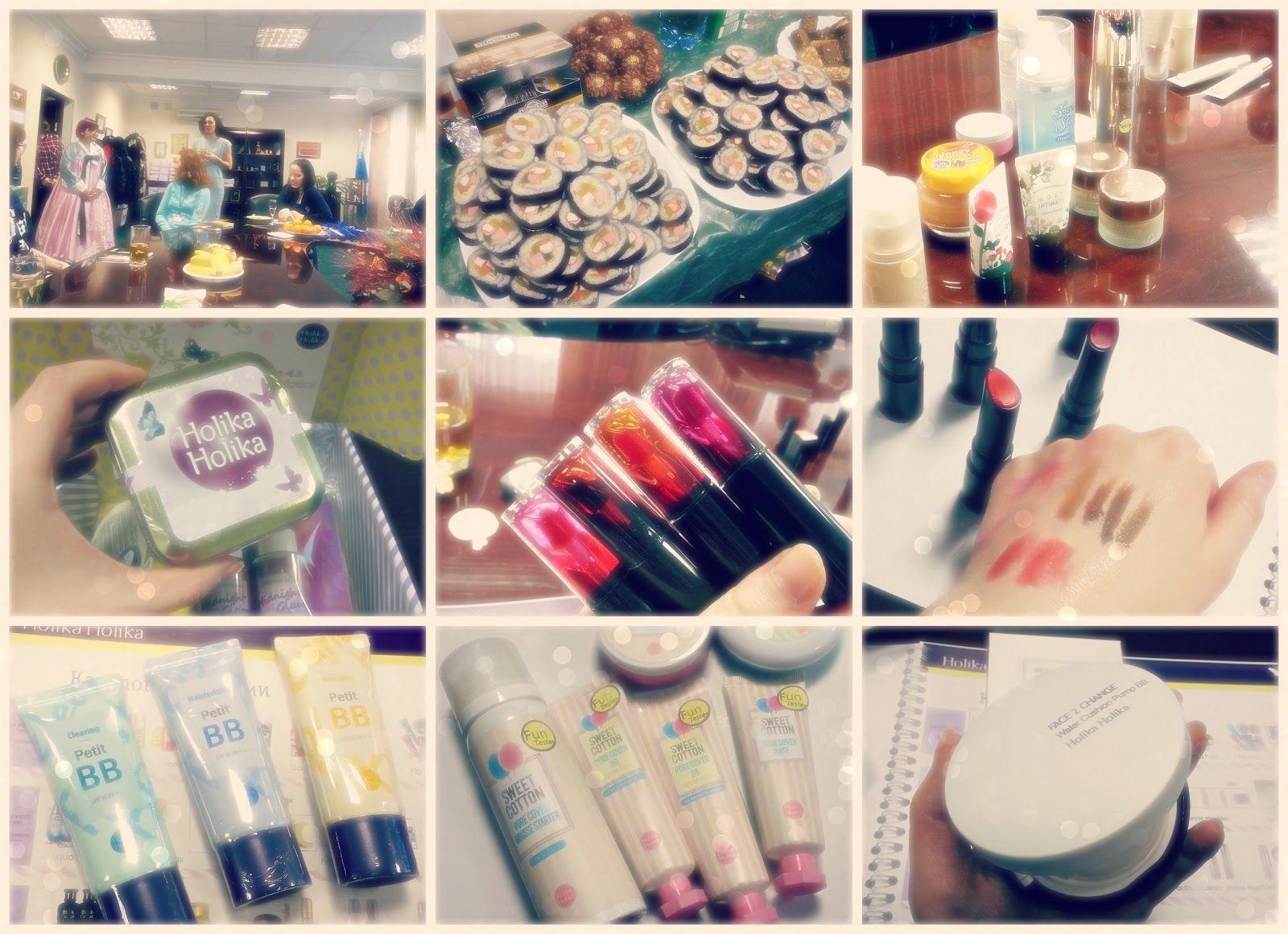 CamomilleBeautyTime: {322} Презентация новинок корейской марки Holika H...