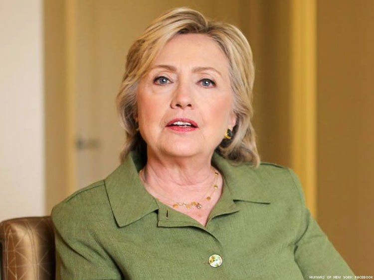 Hillary Clinton Talks About Being Nearly the Only Woman in the Room