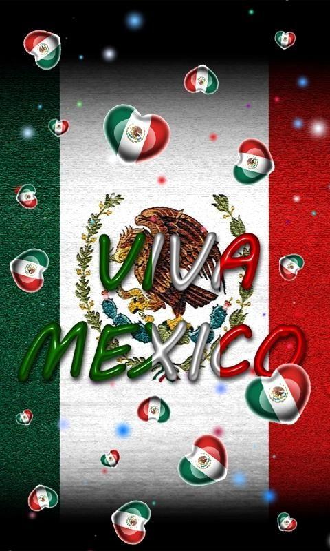 Mexico Flag Wallpaper screenshot Lechuzas blancas