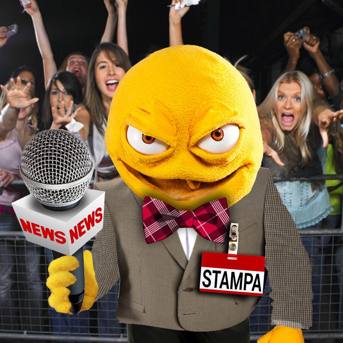 Sono il vostro inviato speciale a Sanremo, segui la mia diretta su Twitter, sarò più cattivo che mai! https://twitter.com/IoSonoFamelik