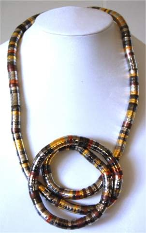 Multicolored Bendable Necklace