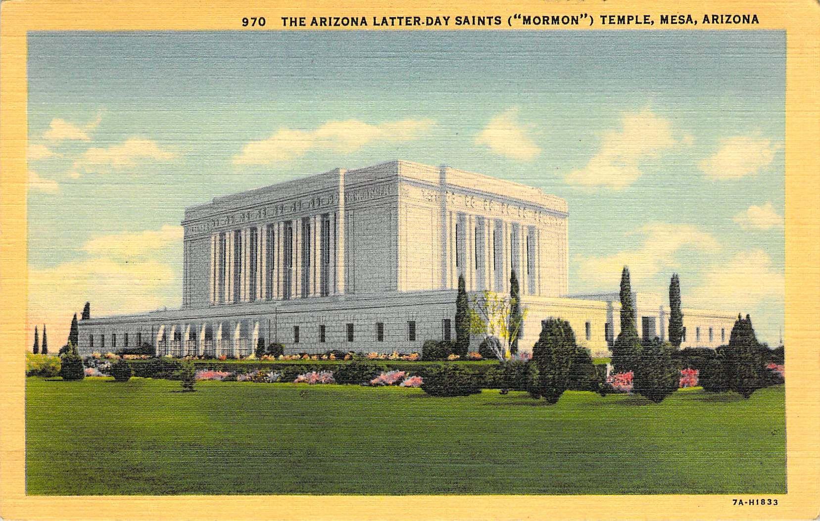 The Arizona Latter Day Saints Mesa Az Art Deco Society Chicago