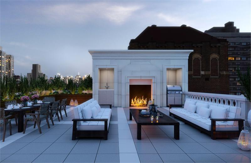 Floorplan Of The Week 44 Million Upper East Side Penthouse Rooftop Patio Design Rooftop Patio Patio Design