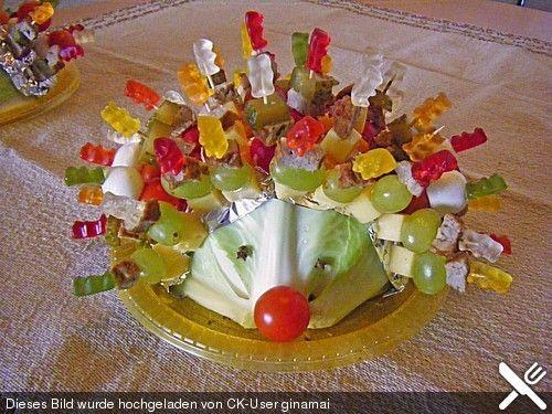 Gartenliebes bunter Spieße-Igel mit Gummibären | Rezept