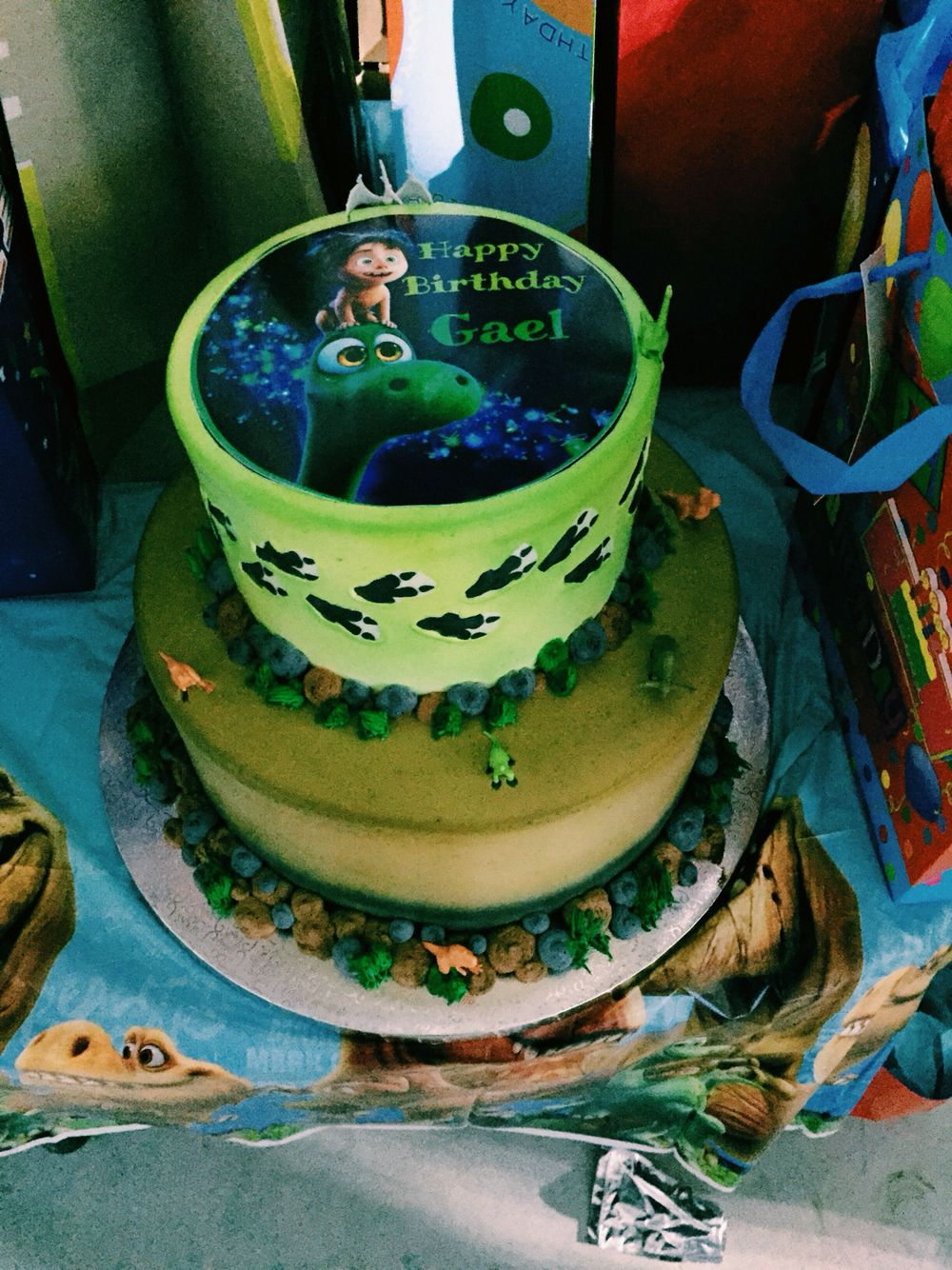 Gaels The Good Dinosaur Birthday Cake Dinosaur Birthday Cakes