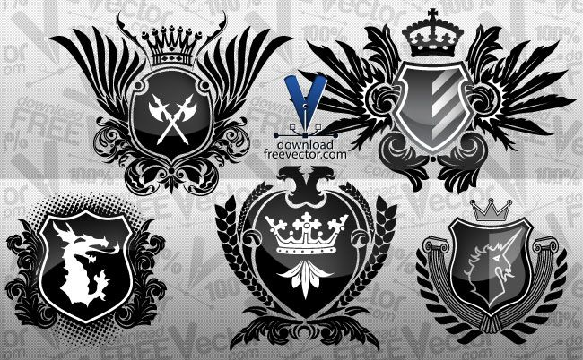 Coat Of Arms   Lettering    Graphics