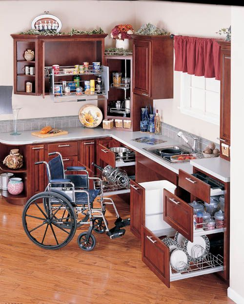 Handicap Bathroom Video On Facebook wheelchair accessible cabinetrywww.mswheelchairamerica