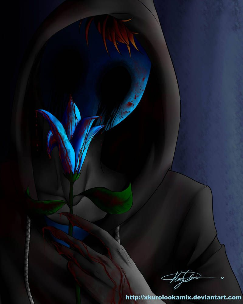 Eyeless Jack -Blood Lust- by Kethereal | Dark quotes | Eyeless jack