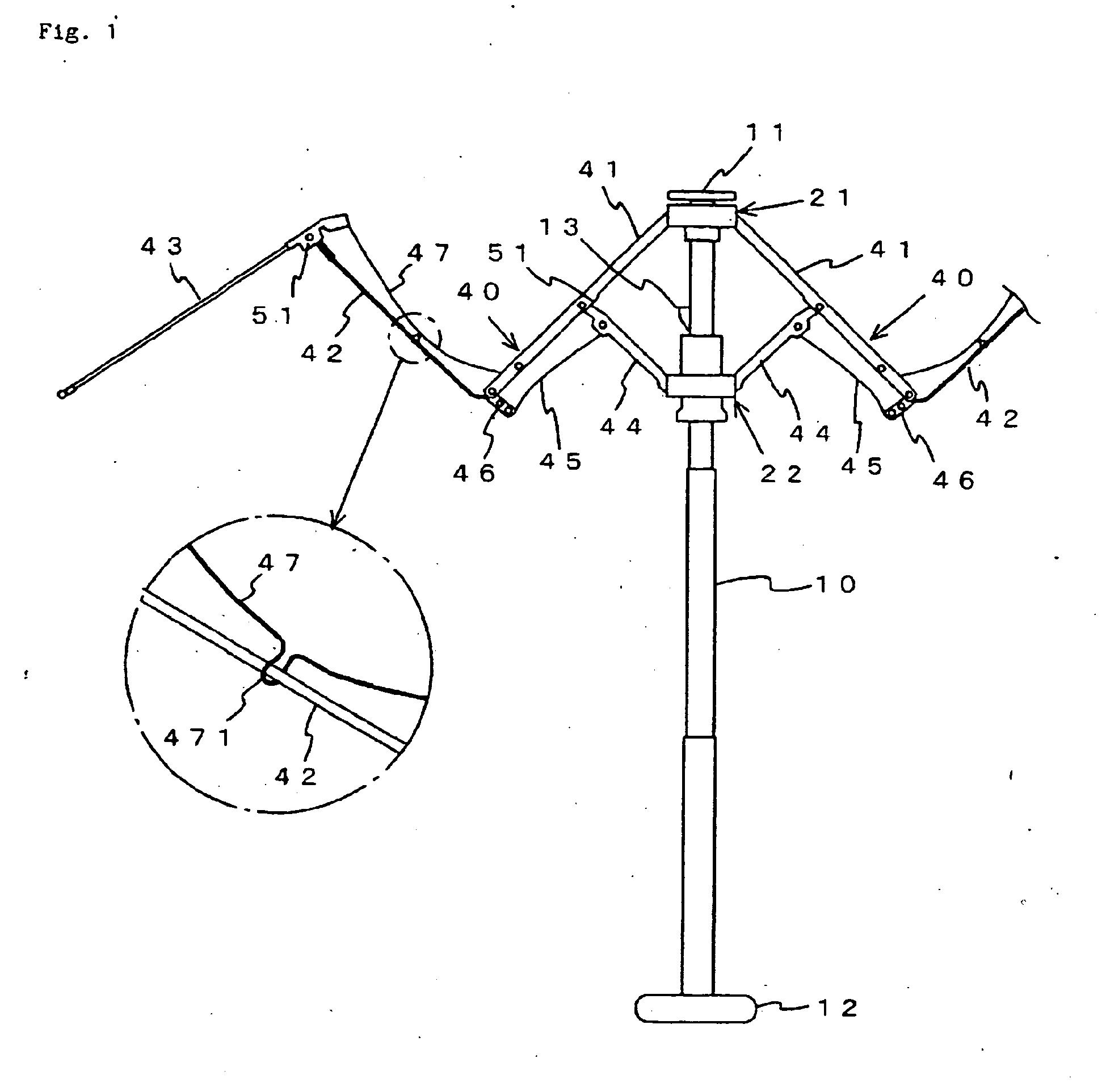 Umbrella Mechanism Drawings
