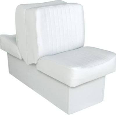 Back To Back Lounge Seat Deluxe Runner White Wise Boat Seats