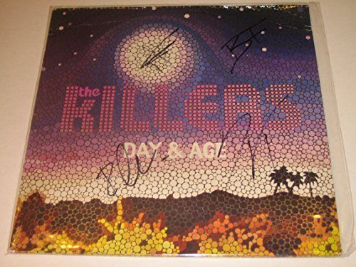 The Killers Day Amp Age Autographed Vinyl Lp By Brandon