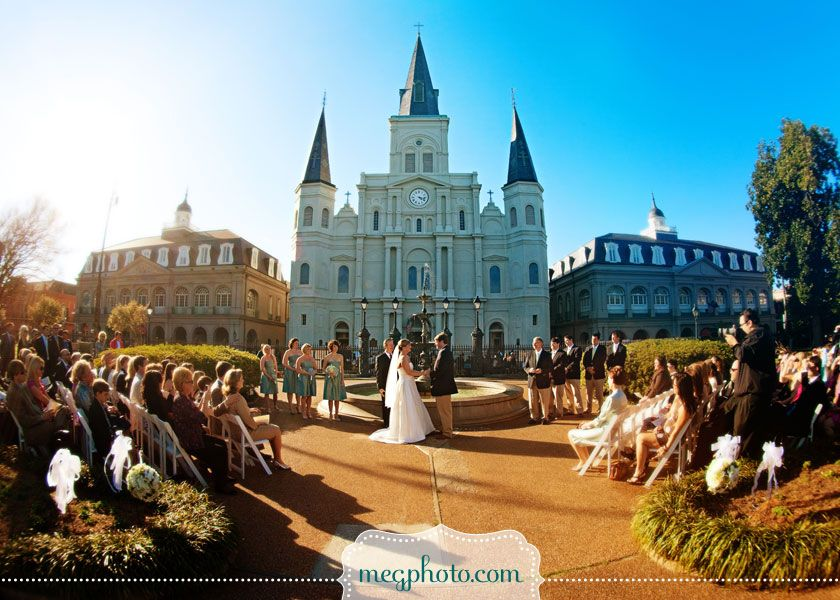 St Louis Cathedral Jackson Square Wedding