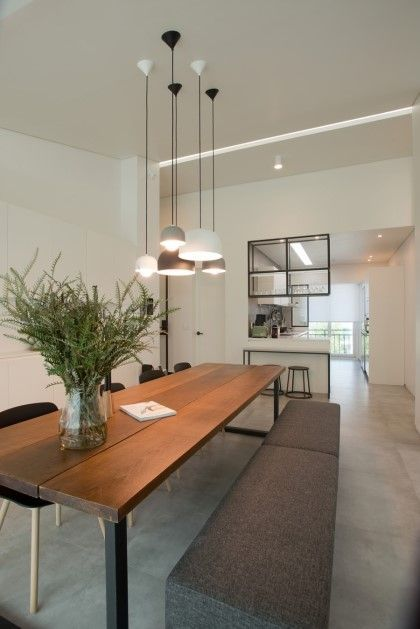 also modern dining room minimalist  table new rh pinterest