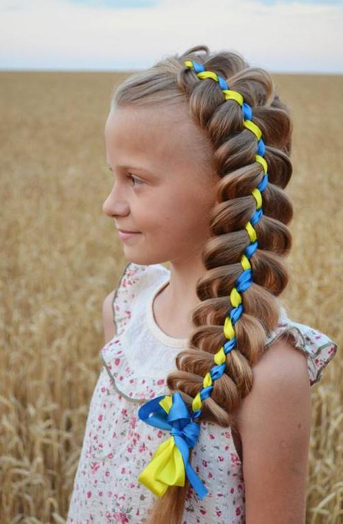 Ukraine From Iryna Appreciated By Cardeapp Ukraine Petite Fille Coiffure Enfant Filles Ukraine