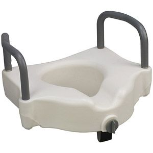 Dmi Hi Riser Locking Raised Toilet Seat Riser With Arms With
