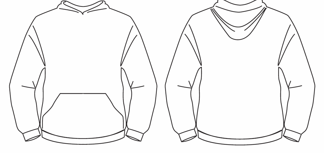 Image Result For Hoodie Template