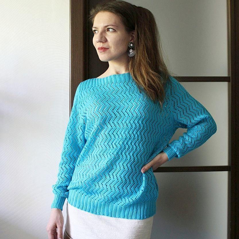 126Машинное вязание свитеров