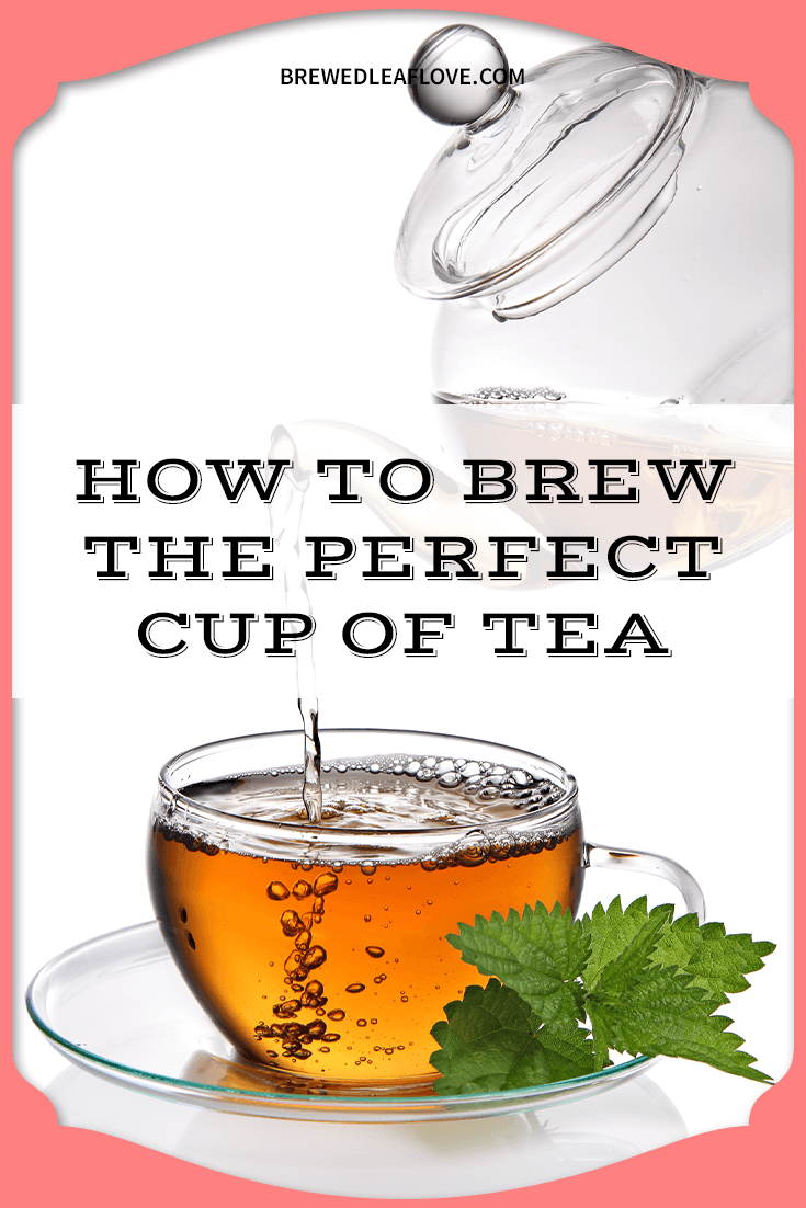 how to make a cup of iced tea