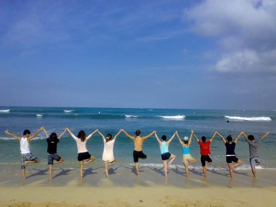 Waikiki Beach Yoga
