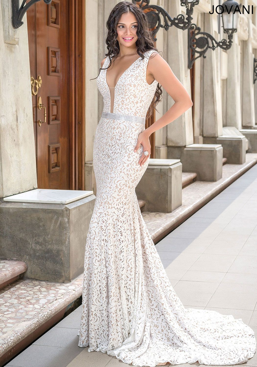 White and nude prom dresses google search prom pinterest