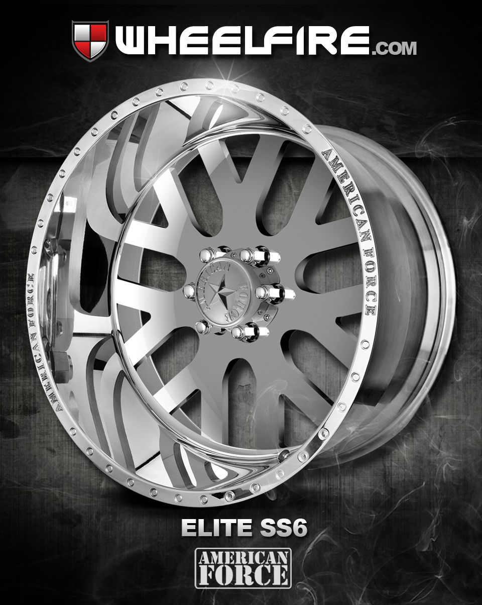 Ntroducing The Elite Ss6 By American Force This Is The Direct Bolt On Elite Ss6 Super Single Series These Custom Built To Or Wheel Truck Rims And Tires Rims