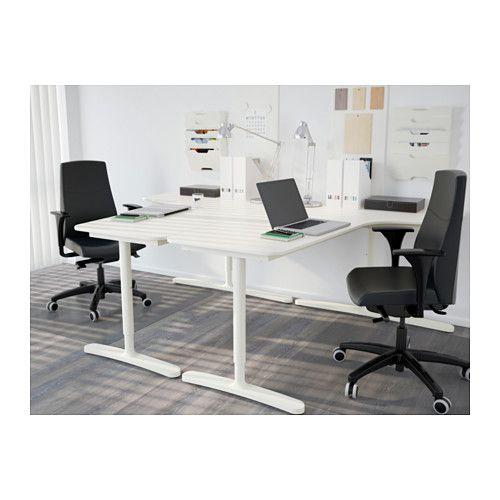Bekant Corner Desk Left White Home Office Furniture Home Office Design Ikea Bekant