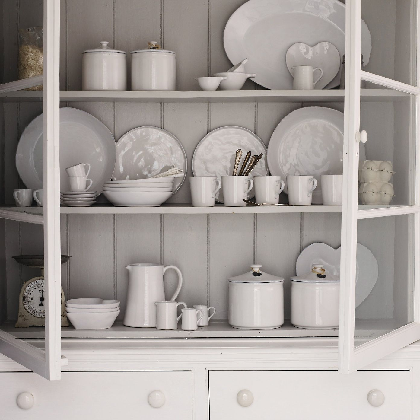 Buy Home Accessories Part - 23: Buy Home Accessories Tableware Stoneware Coffee Cups U0026 Saucers With Jug  From The White Company