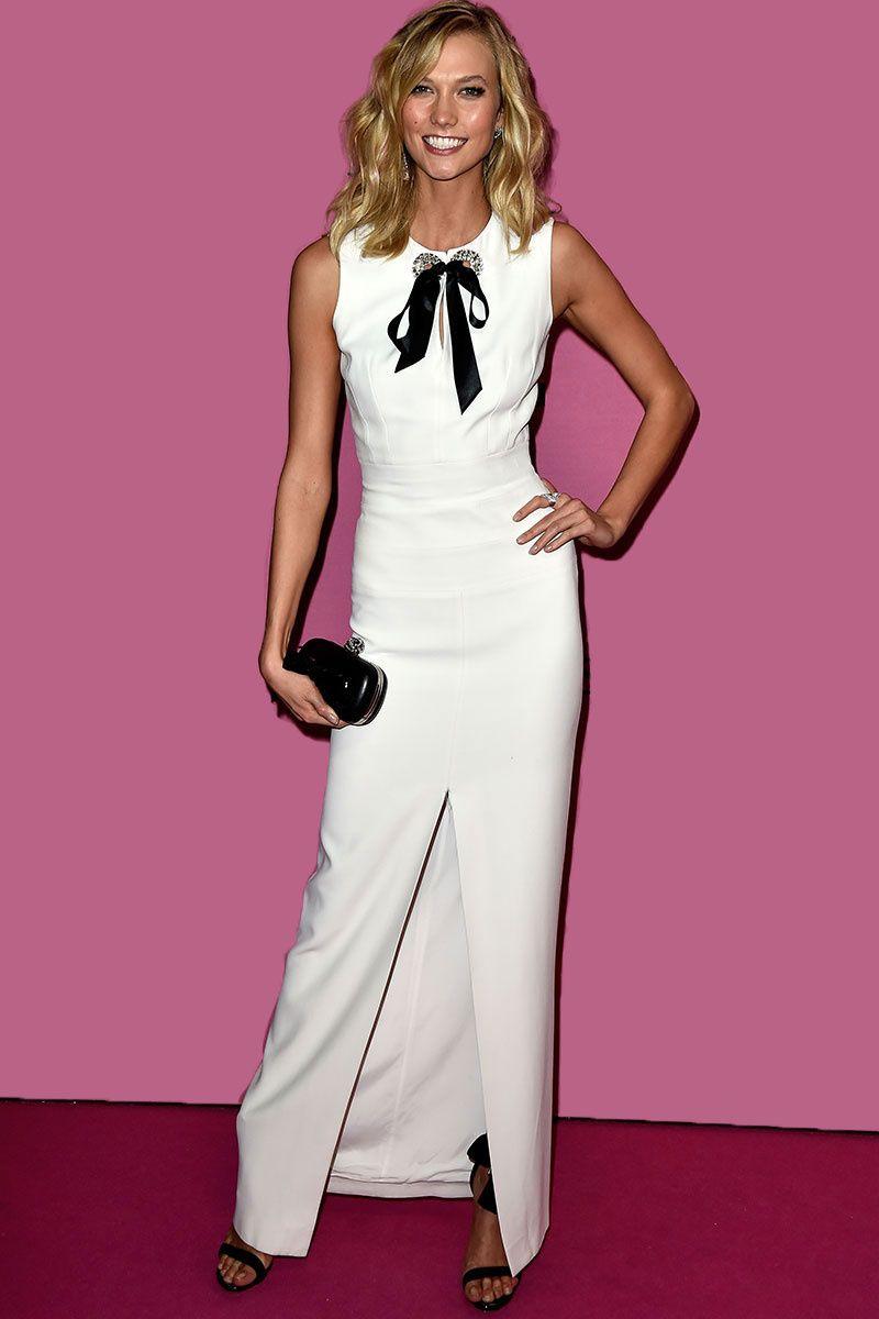 Karlie Kloss en un vestido de Alexander McQueen para el after party ...