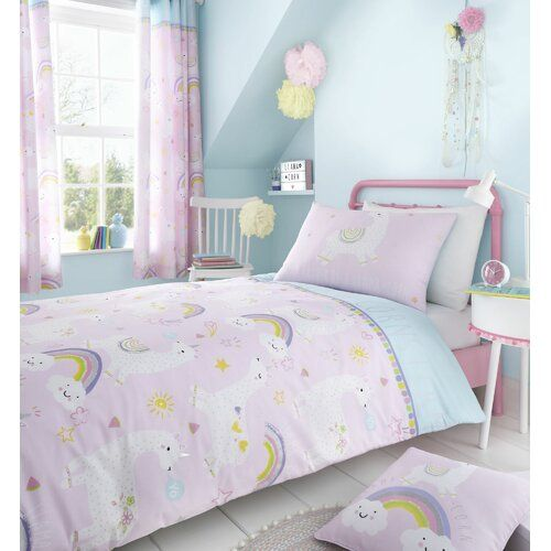 Catherine Lansfield Unicorn Duvet Cover Kids Bedding Bed Set Or Accessories NEW