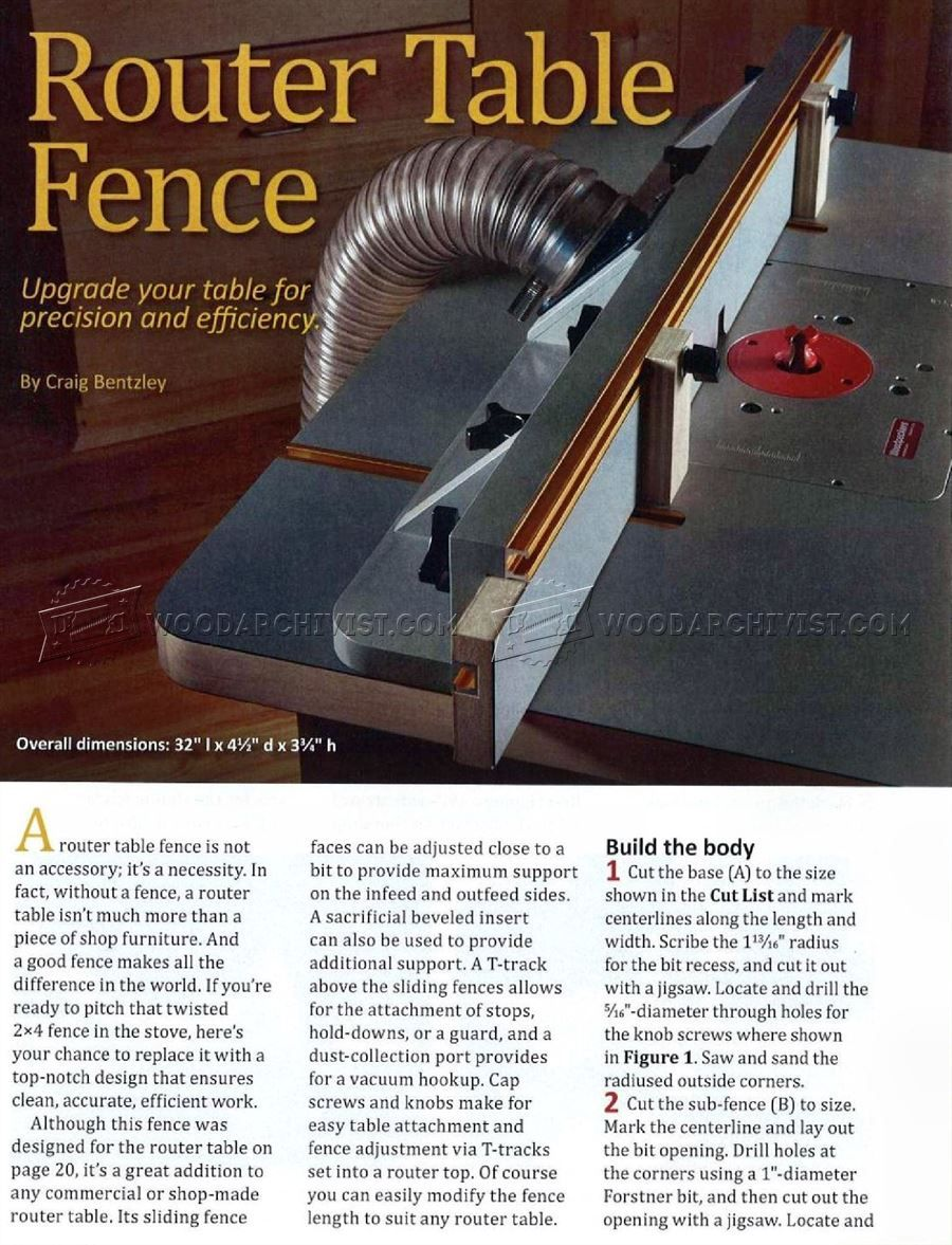 DIY Router Table Fence - Router | Fresadora | Pinterest | Fresadora