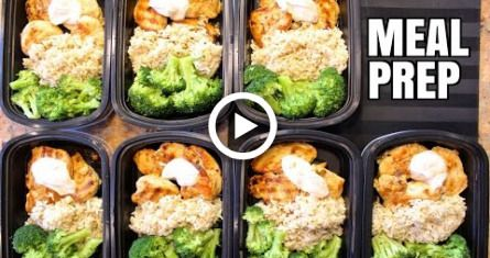 How To Meal Prep - Ep. 1 - CHICKEN (7 Meals/$3.50 Each) #fitness