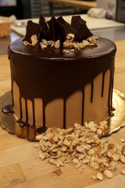 5 Layer Dark Chocolate Black Magic Cake Cake Recipes Cake