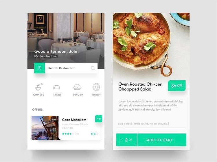 Restaurant App Design Getting Inspired Check Out Our Youtube