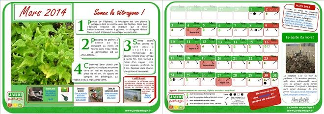 calendrier lunaire du jardinage de mars 2014 conseils. Black Bedroom Furniture Sets. Home Design Ideas