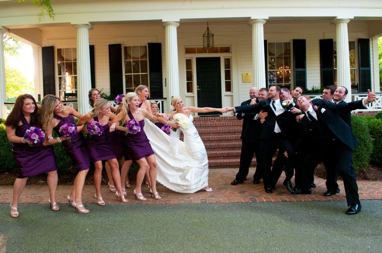 Purple Wedding Party Tug-O-War | Wedding - Flowers/bouquets ...
