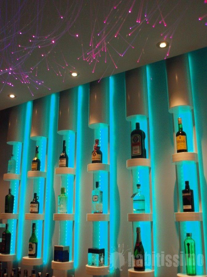 Impresionante y magn fico dise o de botellero ideas bar - Botelleros para bar ...