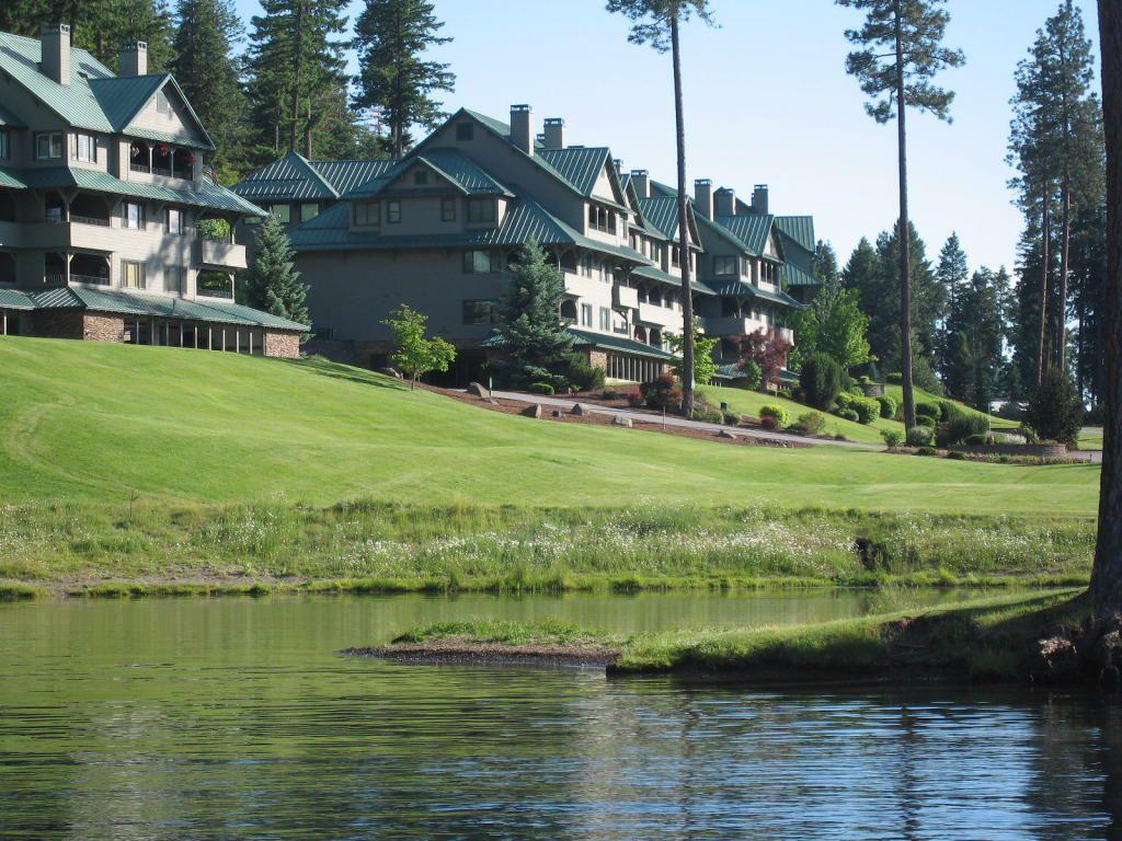 Coeur dalene lake arrow point penthouse condo building b