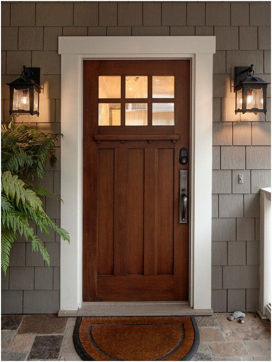 Masonite Steel Entry Door House Inspiration Craftsman Exterior