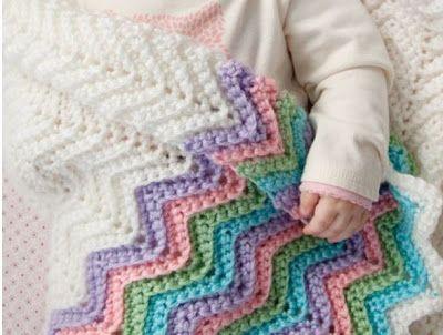 Bichus Amigurumis: Patrones Gratis de Mantas para Bebes | Manta baby ...