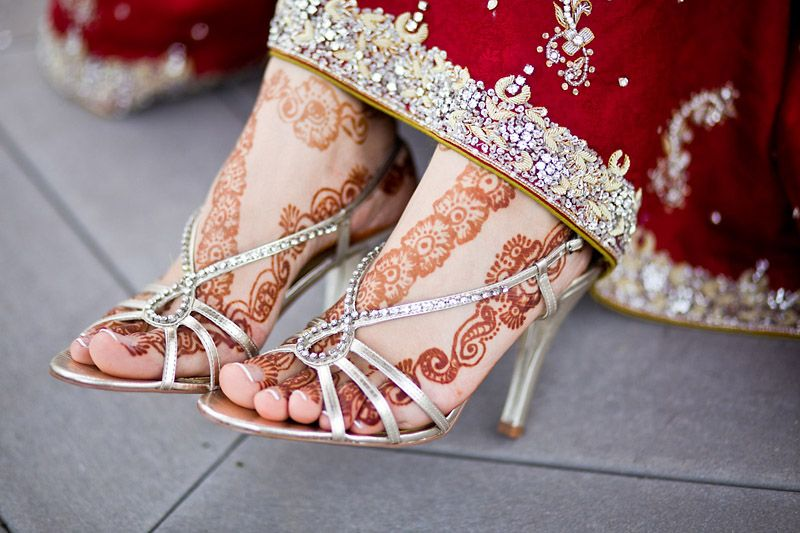Mehndi Ankle Boots : Pin by alin ajel on wedding shoes hennas mehndi and