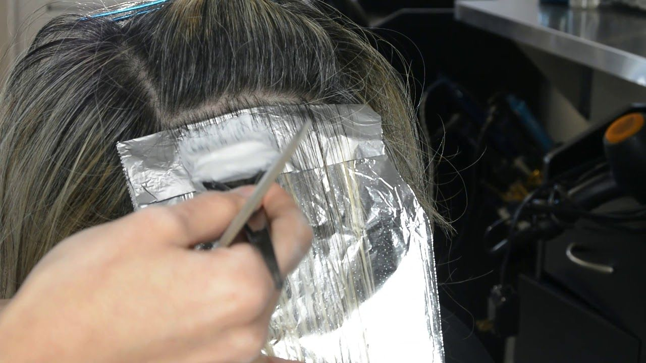 Gray Blending For Dark Hair With Grey Highlights Only No