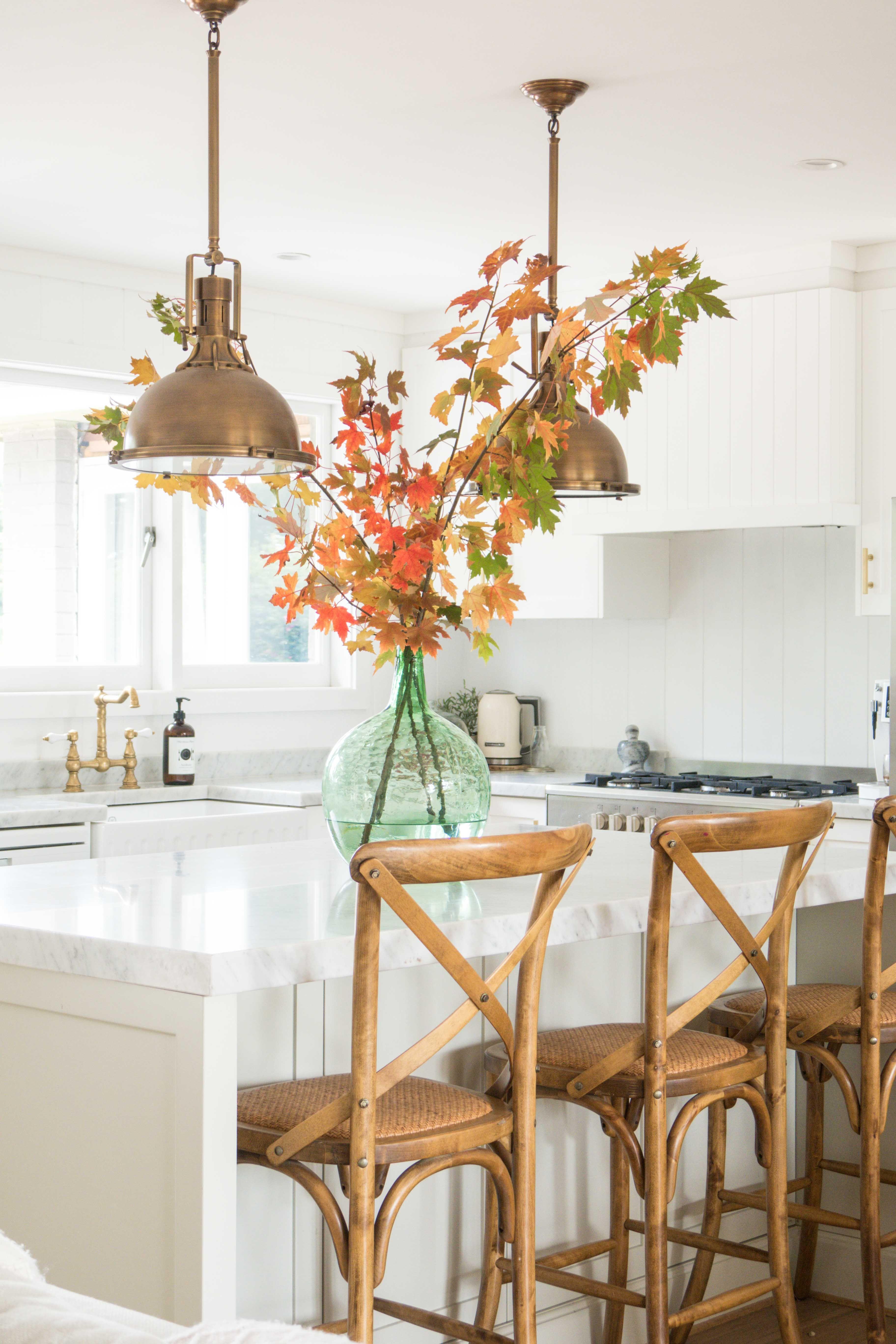 Autumn Scenes At Home Gorgeous Kitchens Autumn Dining Decor