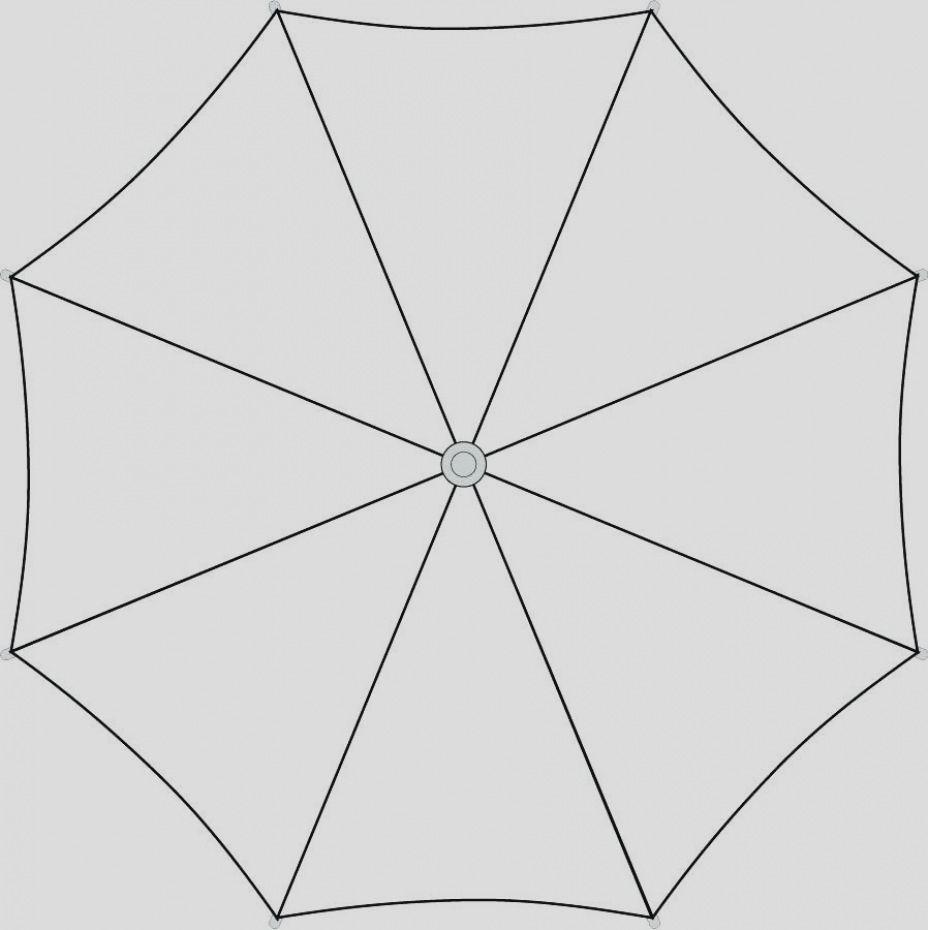 Umbrella Template Printable And Gallery Blank Umbrella With Regard
