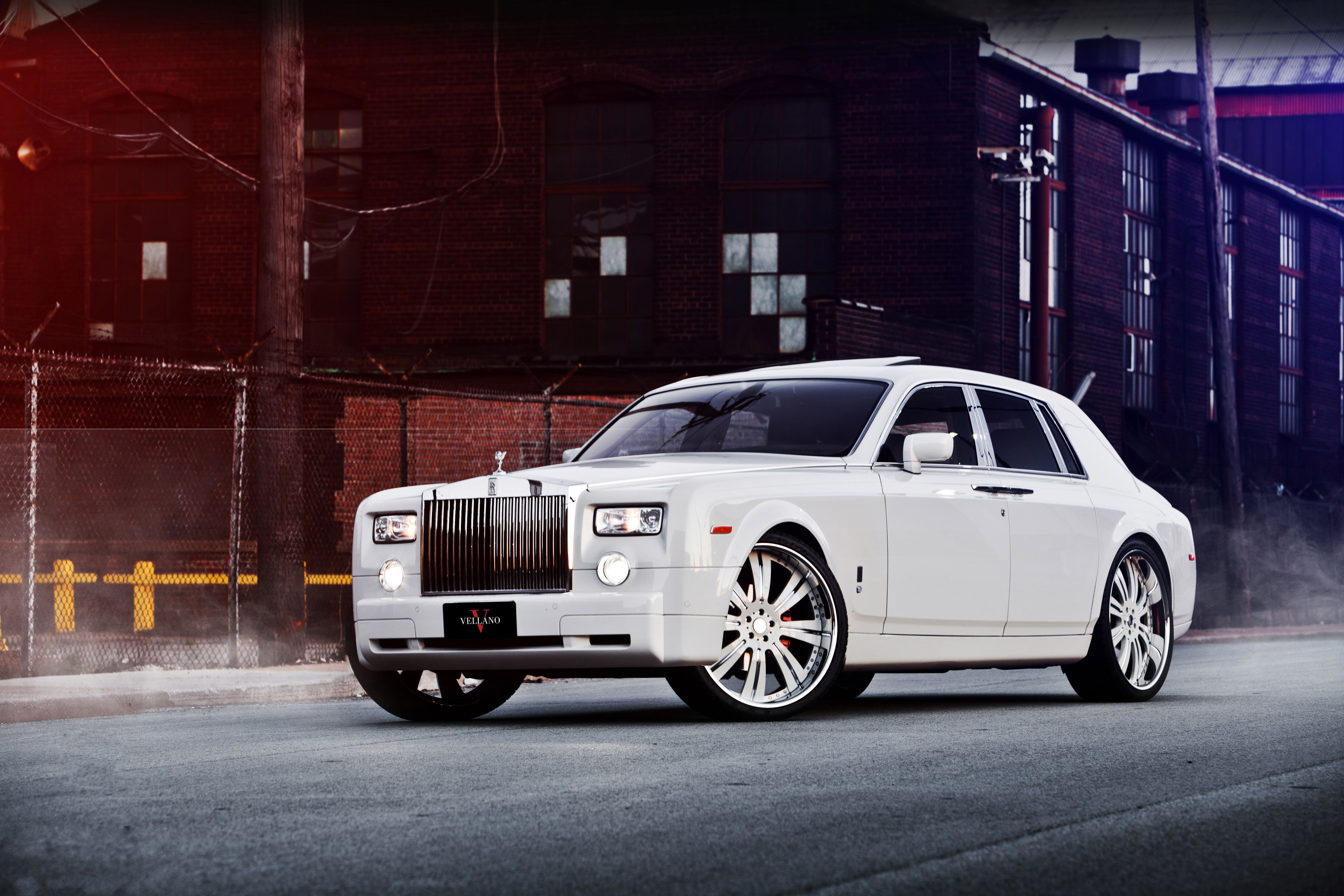 Обои phantom, drophead, Rolls royce. Автомобили foto 13